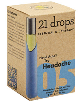 21 Drops - Headache Essential Oil Blend #5
