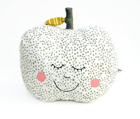 Happy Polkadot Apple Pillow
