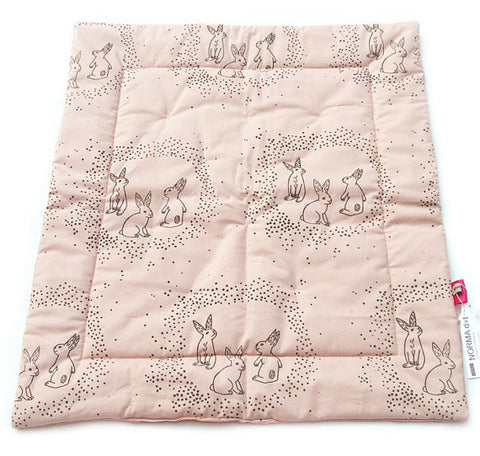 Baby Blanket Rose Rabbit