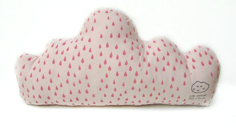 Large Cuddly Cloud - Grey/Milk Striped