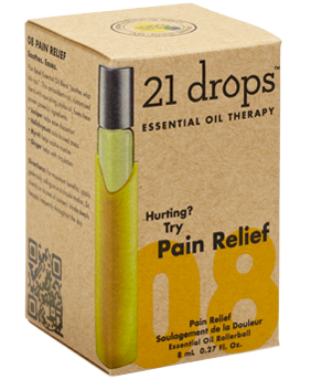21 Drops - Pain Relief Essential Oil Blend #8