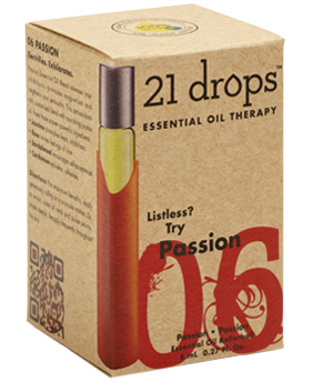21 Drops - Passion Essential Oil Blend #6