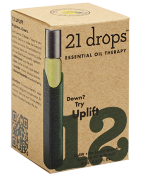 21 Drops - Uplift Essential Oil Blend #12