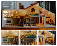 Dinki Human DIY Blog : Crafting a Dolls House for Maileg Mice Toys