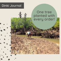 one tree planted with every dinki human order!