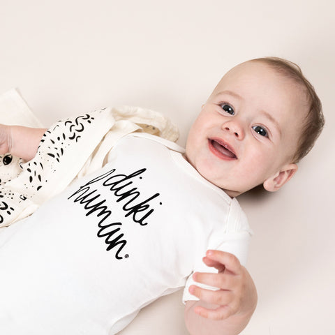 dinki human organic essentials collection organic baby clothes UK