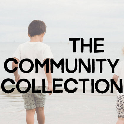 Dinki Human community collection, organic kids clothes and ethical baby clothes made in the UK