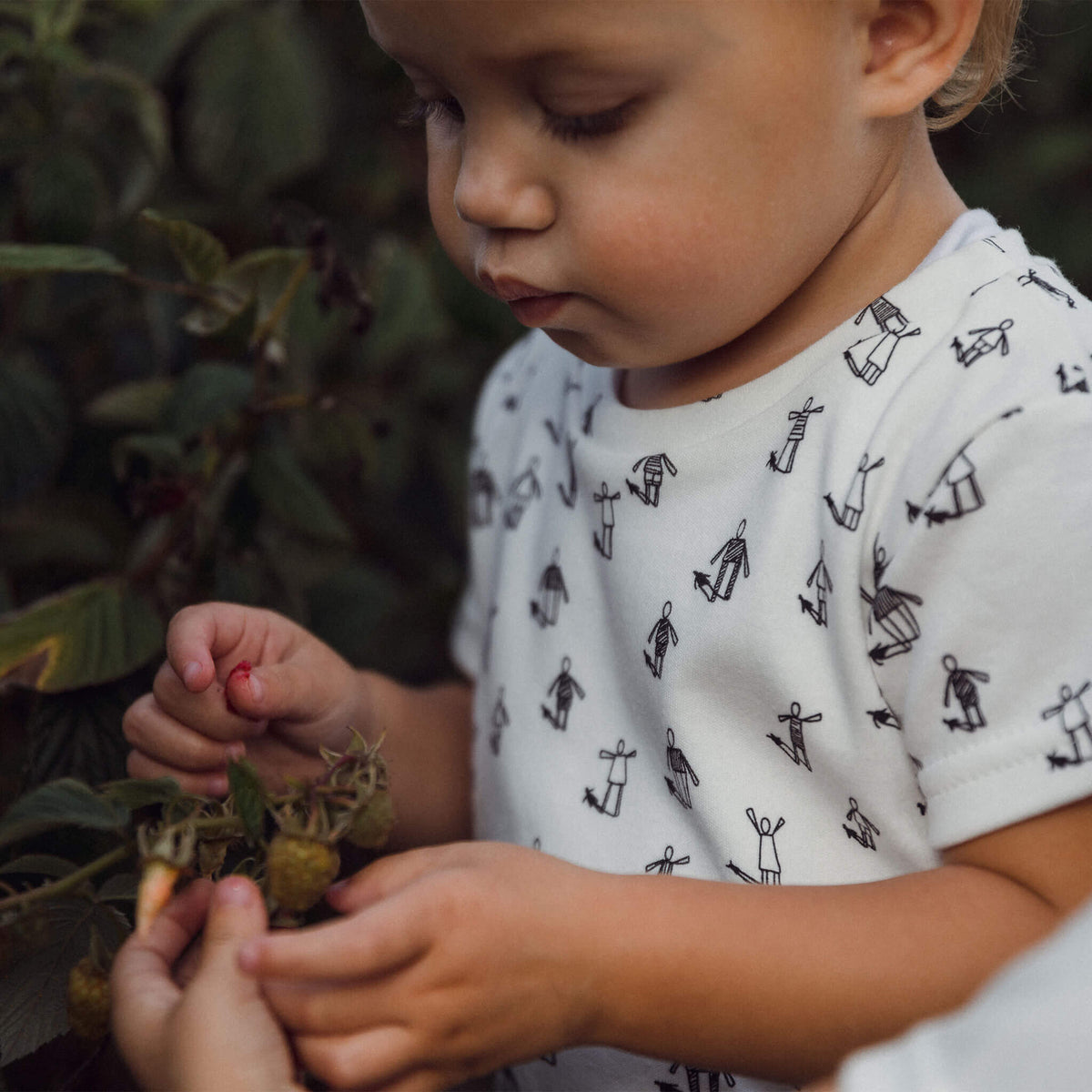 'Community' Organic Cotton Tee - Dinki Human Organic Kids Clothing