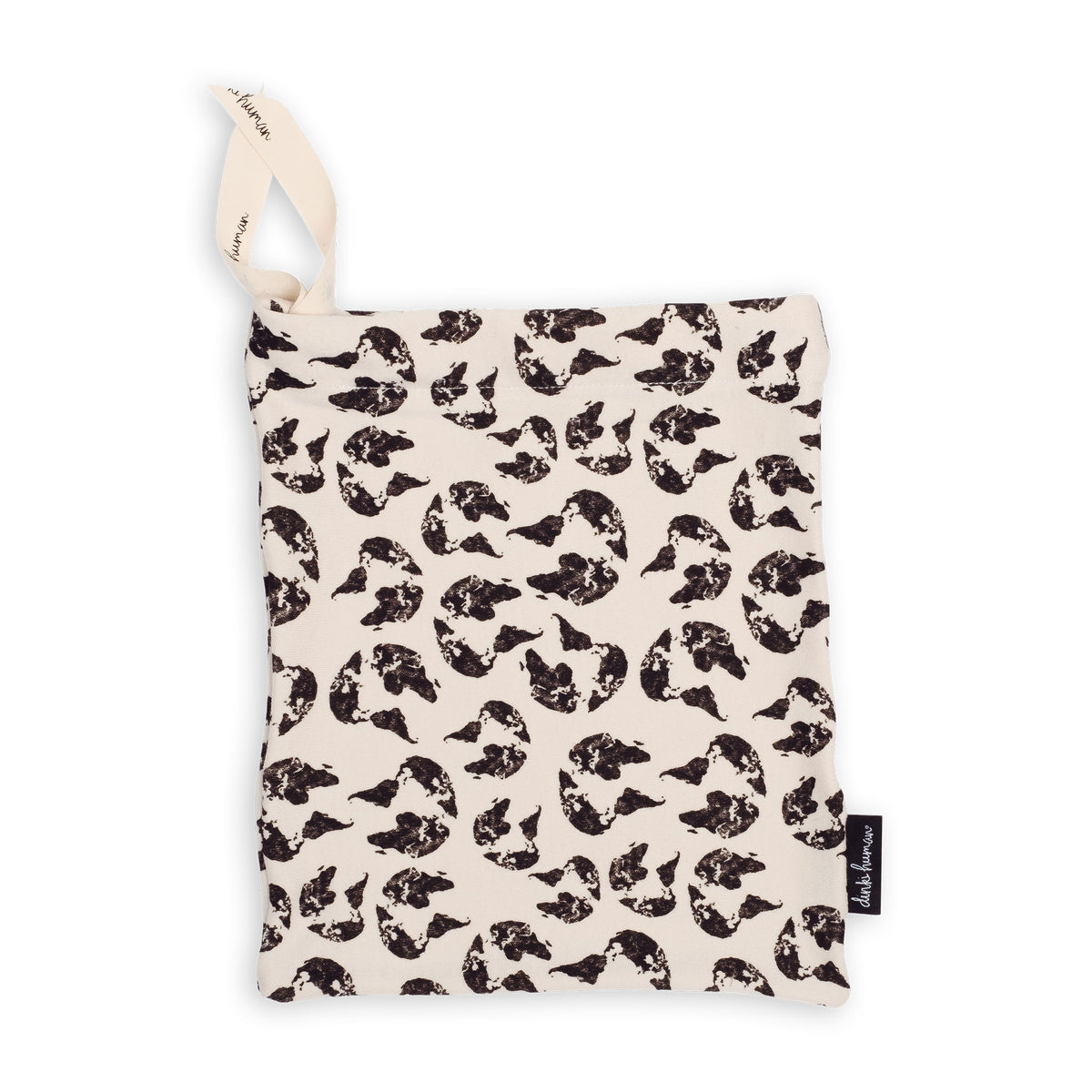 Earth Leopard Drawstring Bag - Dinki Human Organic Kids Clothing