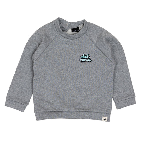Dinki Human organic cotton sweatshirt kids style. Organic Kids Clothes core collection.