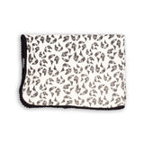 Earth Leopard Organic Cotton Baby Blanket - Dinki Human Organic Kids Clothing