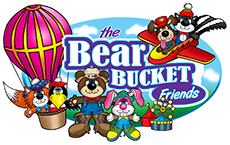 Bear Bucket Friends