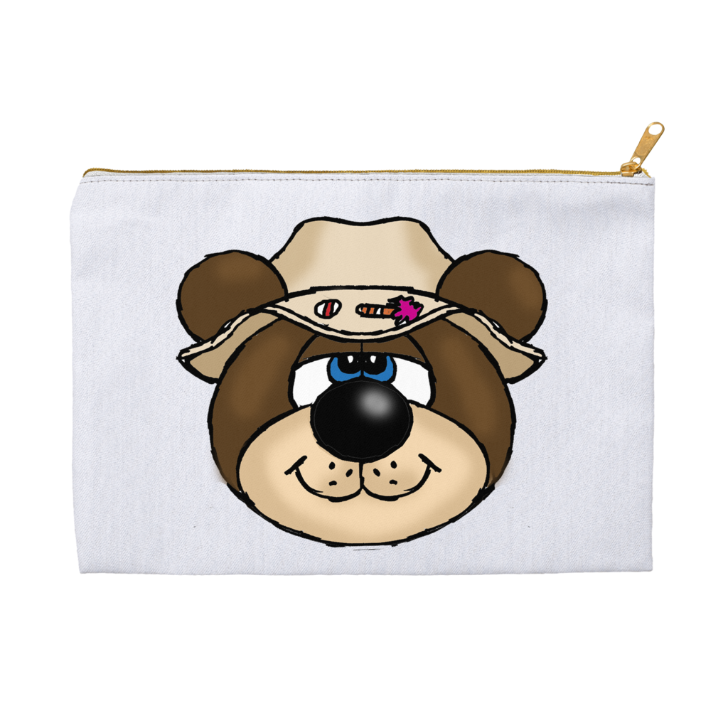 Bernie the  Bear Accessory Pouche