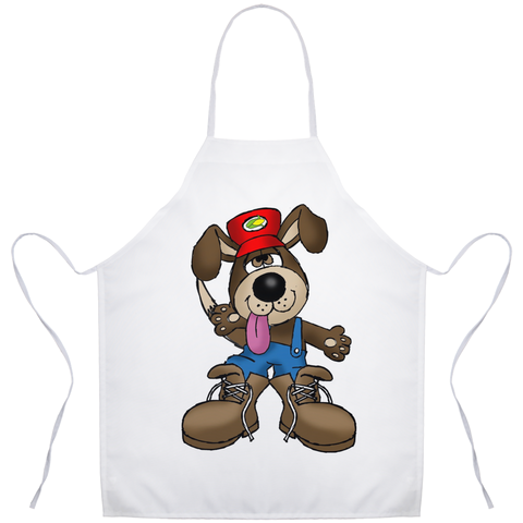 Digger the Dog Apron