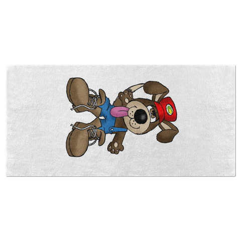 Digger the Dog Beach Towel