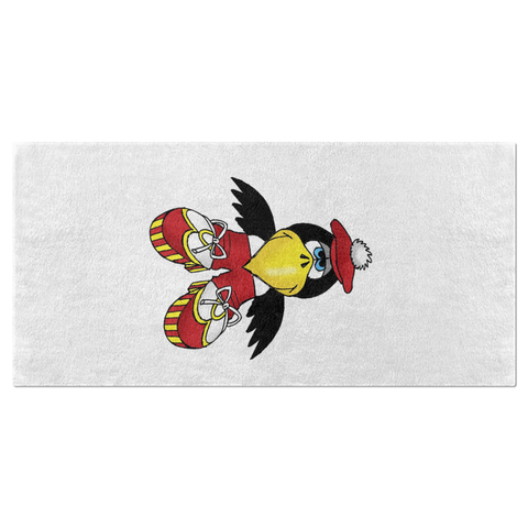 Cobbler the Magpie Beach Towel