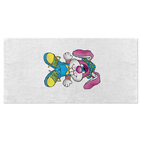 Ratchet the Rabbit Beach Towel