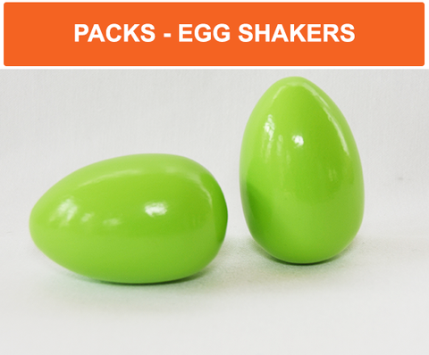 Egg shakers pack