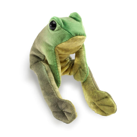 Frog Folkmanis puppet