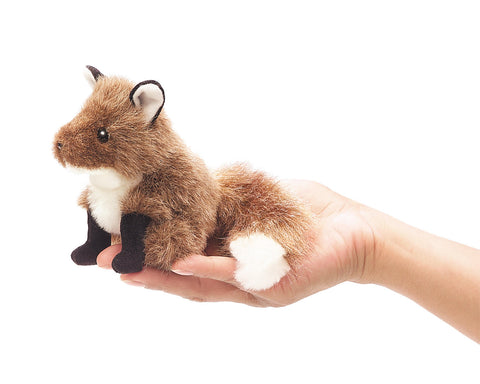 Mini fox Folkmanis puppet