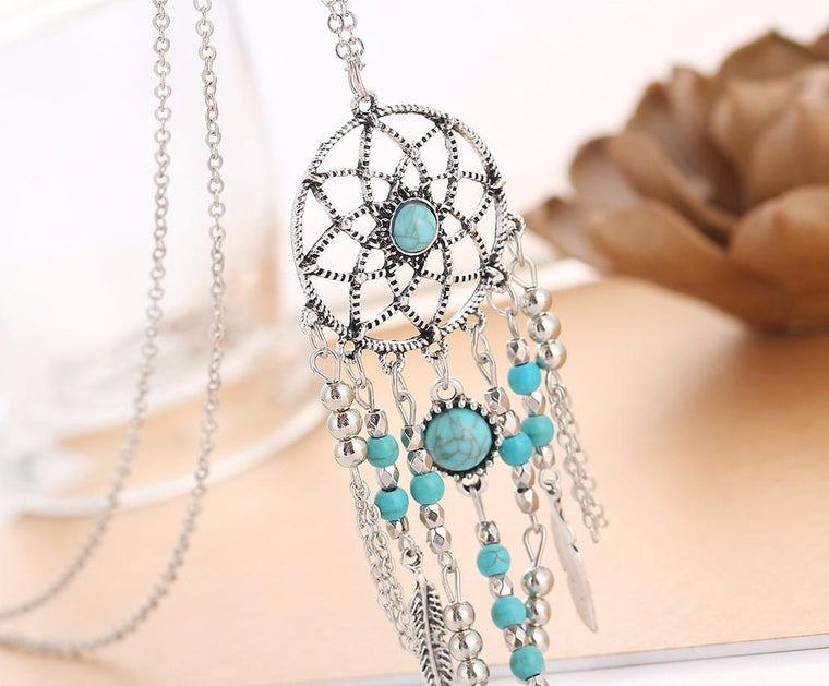 Long Pendant Necklace