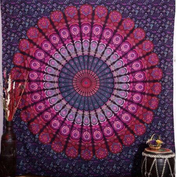 Dream Mandala Tapestry