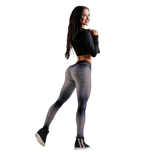 Futurist Mesh Leggings