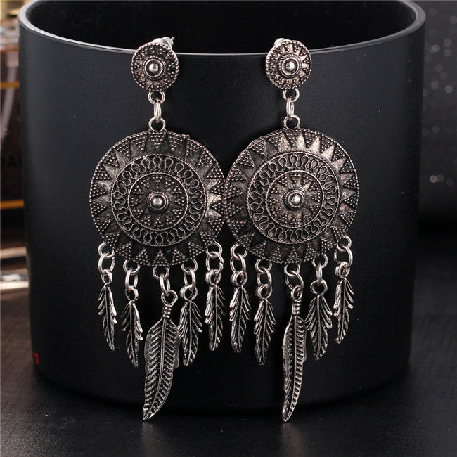 Vintage Dream Catcher Earring