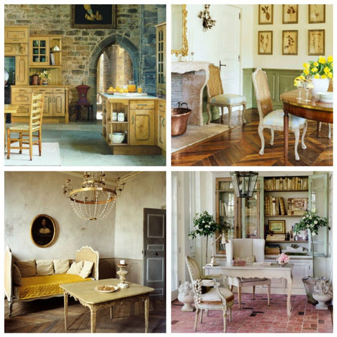 French country French provence fabrics linens textiles