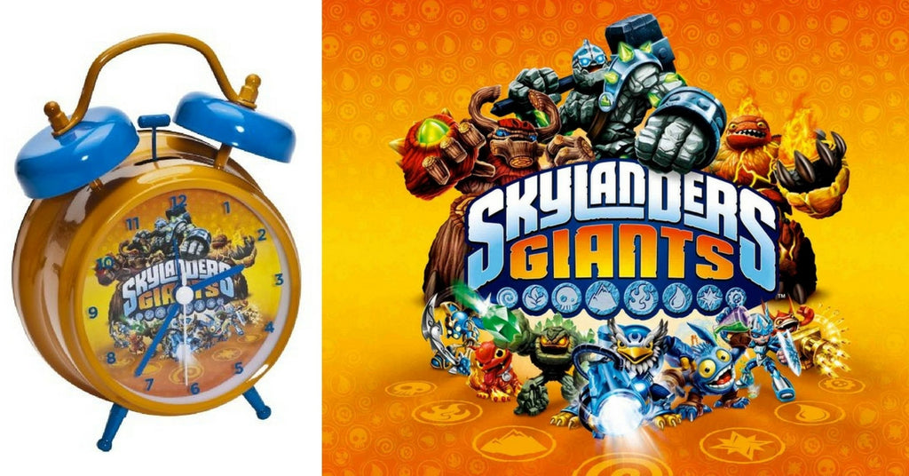 Skylanders alarm clock your children won't mind waking up to
