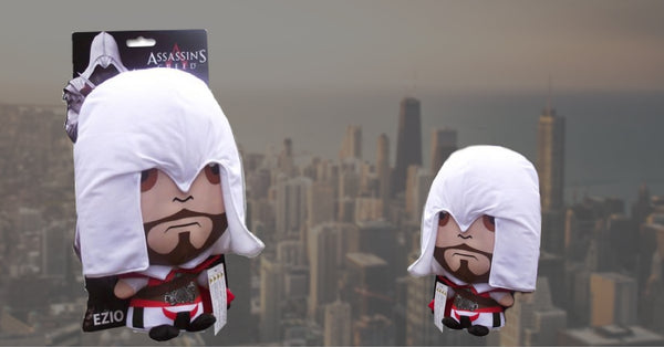 Win an Assassin's Creed ezio soft toy