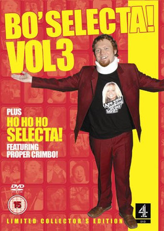 Bo' Selecta! Vol 3 DVD Christmas Special Box Set