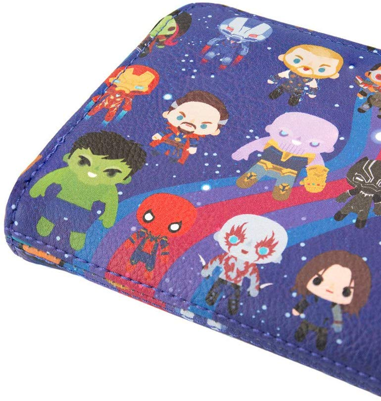 Loungefly Marvel Avengers Infinity War Clutch Wallet