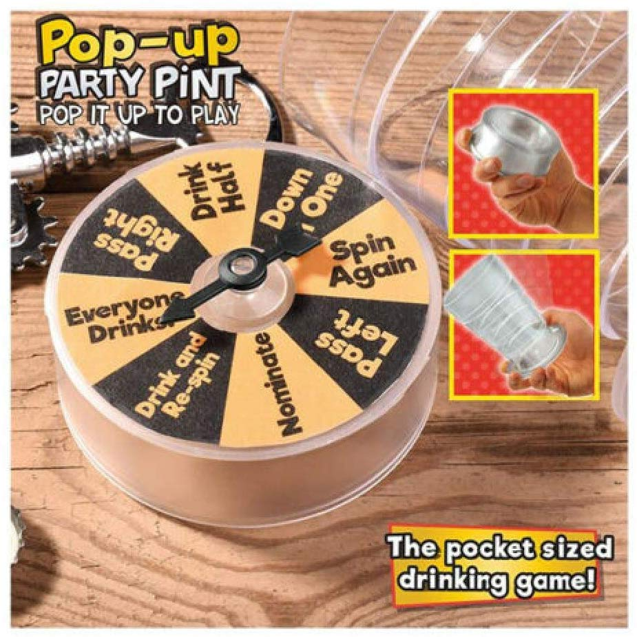 Pop Up Party Pint - Drinking Game
