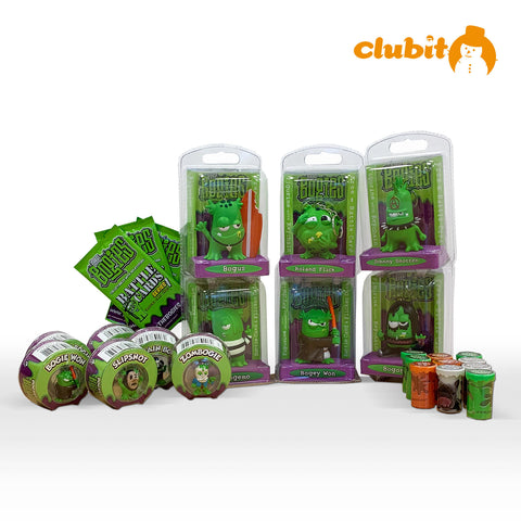 Bogies Slime Novelty Christmas Stocking Filler Bundle pack