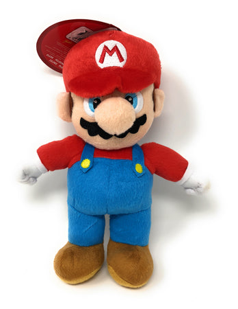 Super Mario Bros Officially Licensed Nintendo Mario Plush Soft Toy.