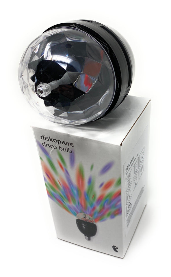 Disco Bulb on Box 2