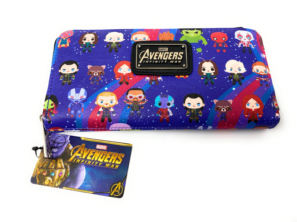 Loungefly Marvel Avengers Infinity War Clutch Purse