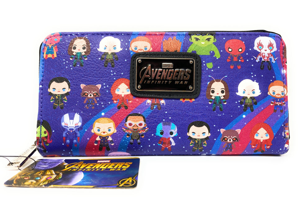 Loungefly Marvel Avengers Infinity War Clutch Purse Wallet