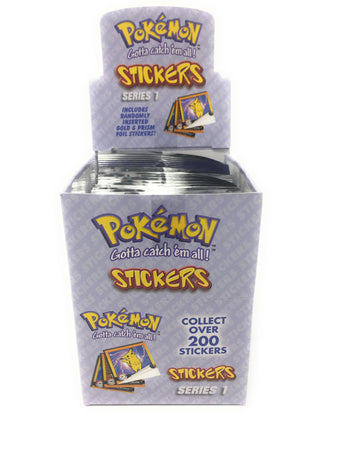 Pokemon Stickers Series 1 Original RARE 1999