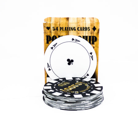Poker Chip Playing Cards