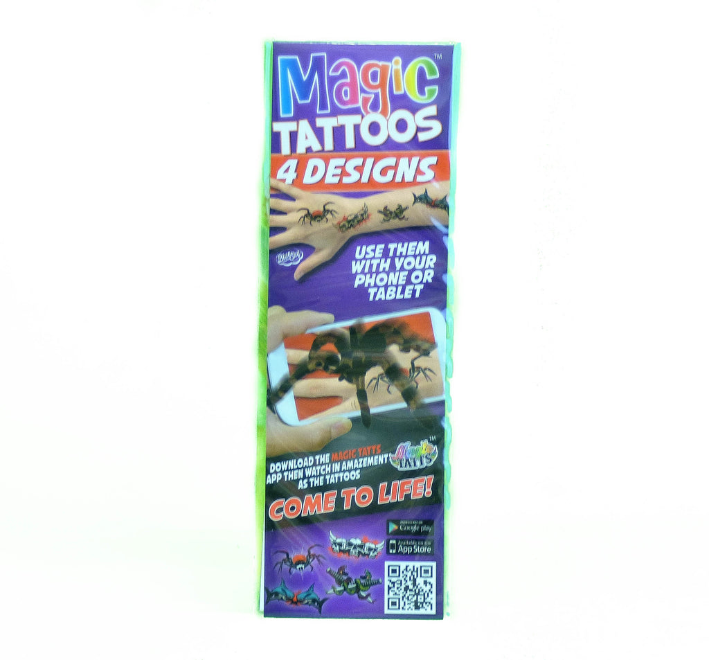 Spider Magic Temporary Tattoo