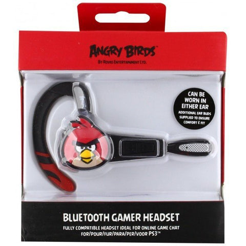 Angry Birds Bluetooth Headset - For PS3 and Smartphones - Clubit.co.uk