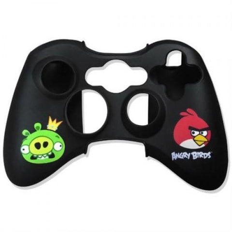Angry Birds Gamepad Controller Skin Wrap - Black (Xbox 360) - Clubit.co.uk