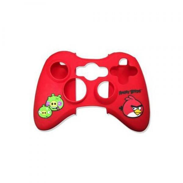 Angry Birds Gamepad Controller Skin Wrap - Red (Xbox 360) - Clubit.co.uk