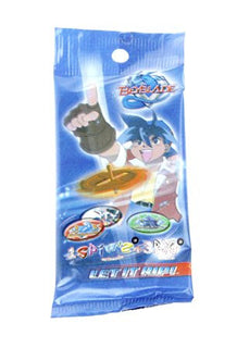 Beyblade Pogs Collectible Retro Spins Game X 5 Booster Packs