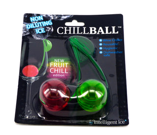 Chillball Reusable Wine Coolers With Clips