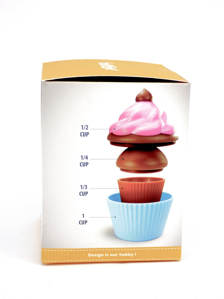 Cute Cupcake Design Measuring Cups For Baking