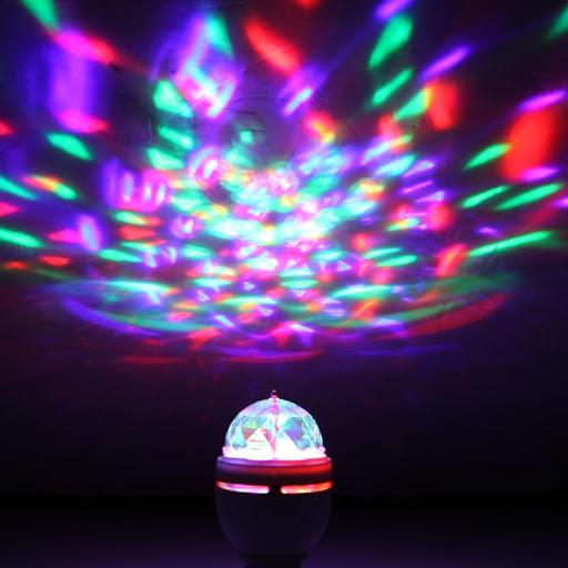 Disco Bulb Projection