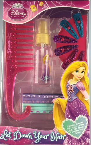 Disney Princess Rapunzel Hair Care Set - Clubit.co.uk